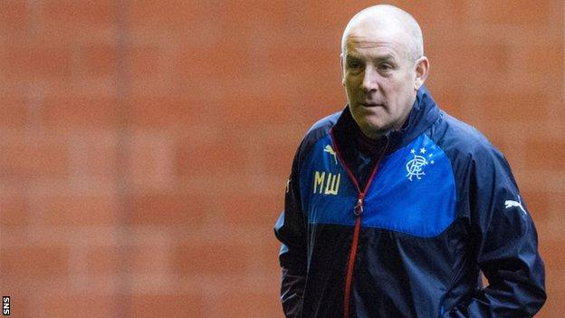 Warburton joined Rangers in the summer after a spell in charge of Brentford