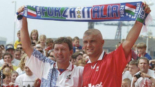 Man united news  football news  football transfer and rumours Fabrizio Ravanelli