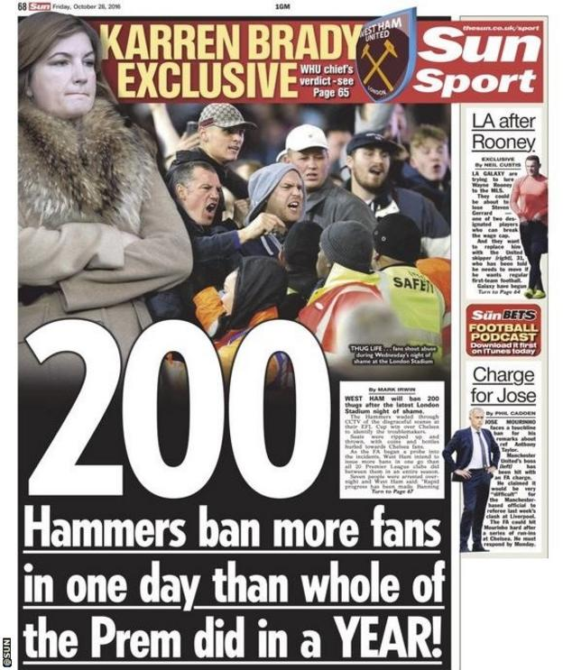 The Sun backpage