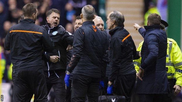 Rangers and Hibernian misconduct