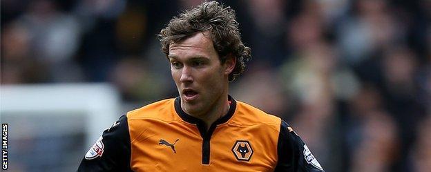 Wolves defender Kevin McDonald