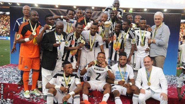 TP Mazembe won the Confederation Cup for the first time last season
