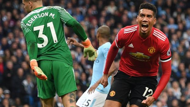 86cfb372a Manchester City 2-3 Manchester United - BBC Sport