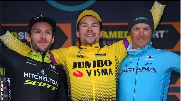 Tirreno-Adriatico podium