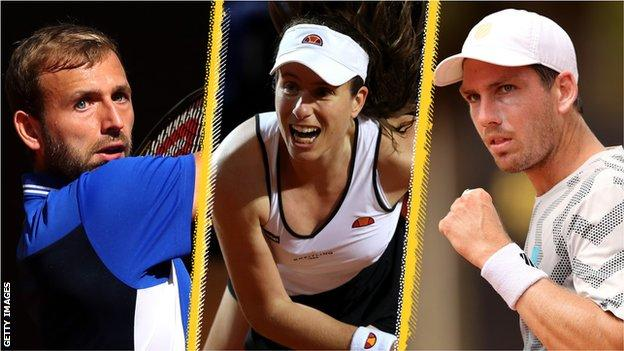 Dan Evans, Johanna Konta and Cameron Norrie are the leading British hopes at the 2021 French Open