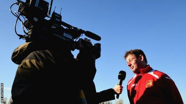 Stourbridge have had 12 previous ties in the FA Cup and Gary Hackett, who was manager for all of them, became used to the increased media presence