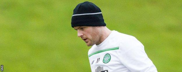 Stokes has made just two appearances for Celtic this season