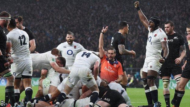 England v All Blacks