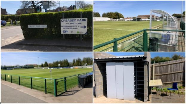 Dunstable Town's home ground of Creasey Park
