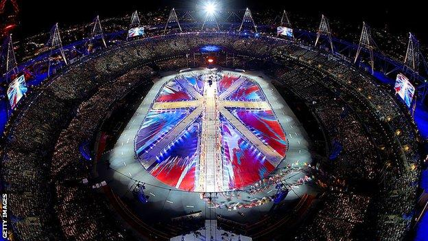 London 2012 closing ceremony
