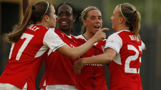 Women 39 s super league one arsenal drop 39 ladies 39 from name - Bbc football league 1 table ...