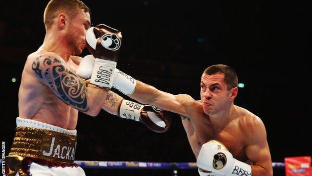 Scott Quigg fighting Carl Frampton