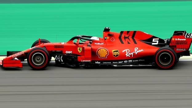 Brazilian GP: Sebastian Vettel top as Kubica crashes in Brazil practice
