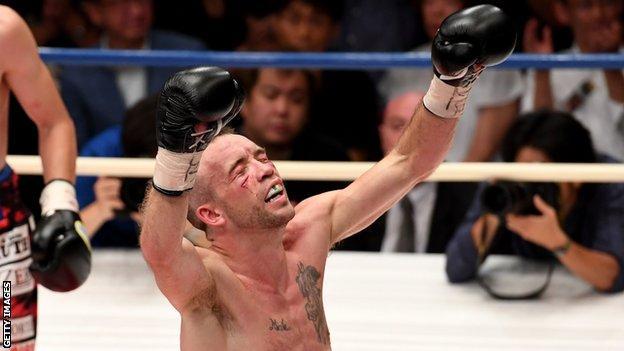 Irishman TJ Doherty was Baluta's most recent win 13 month