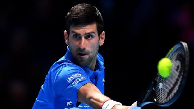 Novak Djokovic beats Matteo Berrettini in opening match of ATP Finals in London thumbnail