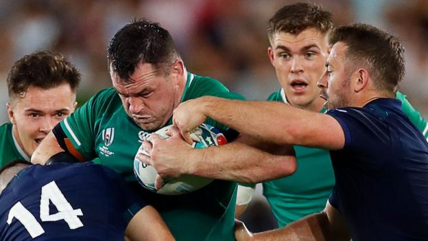 Ireland will embrace frenzy of Japan Rugby World Cup encounter - Cian Healy