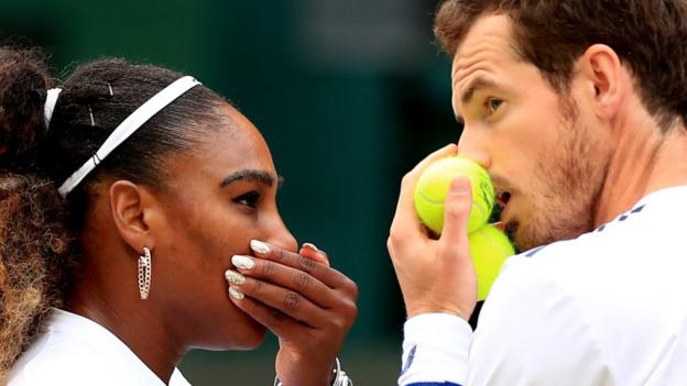 Wimbledon 2019: Serena Williams wanted 'to watch rather than play' in Andy Murray match thumbnail