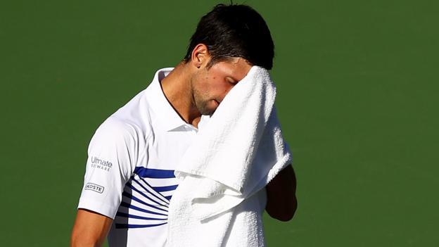 Indian Wells: Novak Djokovic beaten by Philipp Kohlschreiber in third round thumbnail