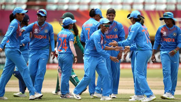 Women's World Twenty20: India beat Pakistan to maintain 100% record