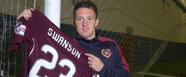 New Hearts signing Danny Swanson