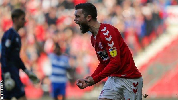 Howson scored his first goal since April 2018