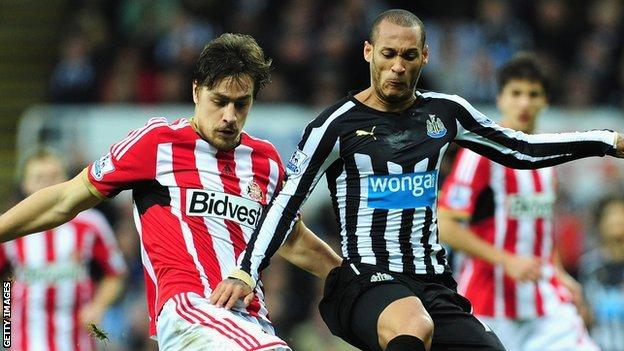 Sunderland v Newcastle