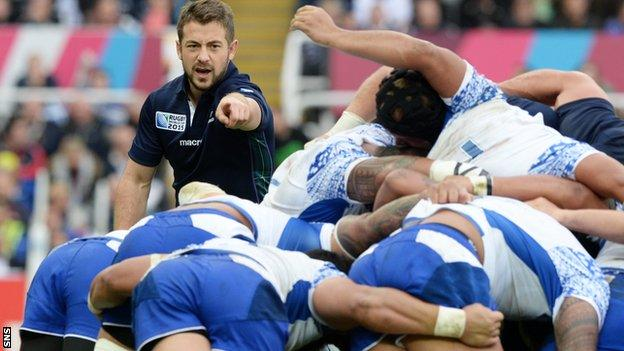 Greig Laidlaw's clear thinking helped Scotland reach the last eight of the World Cup