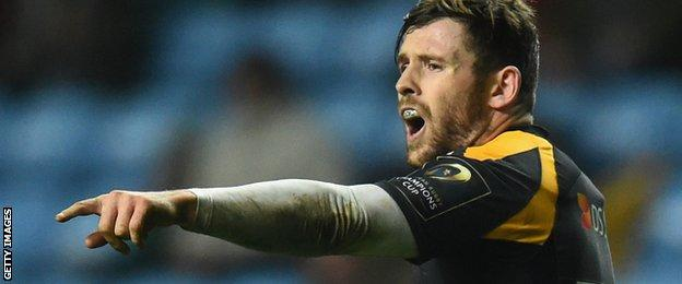 "Uncapped Wasps centre Elliot Daly told BBC Radio 5 live that his call-up was a ""dream come true"""
