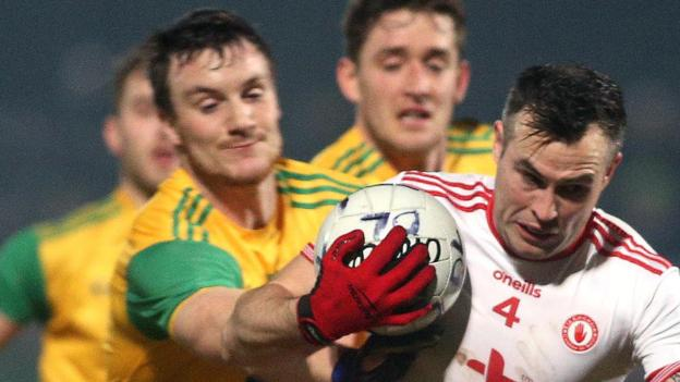 Football League, Division One: Tyrone 2-13 Donegal 1-10
