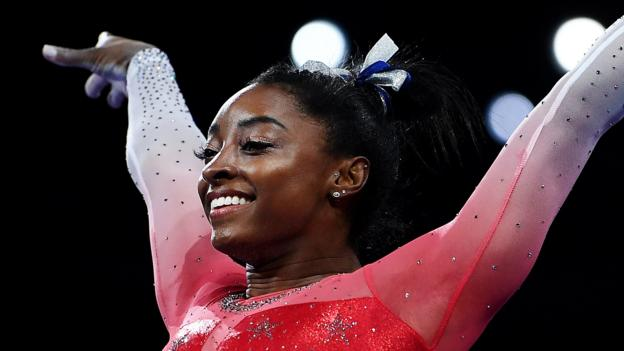 Simone Biles wins record 21st World Gymnastics Championships medal