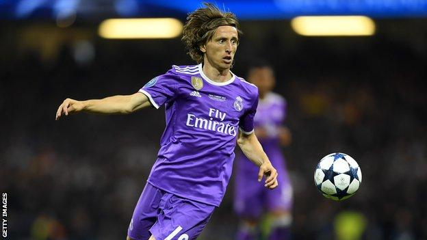 Luka Modric won his third Champions League title
