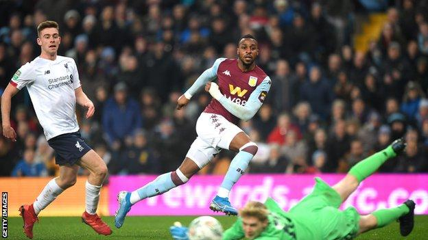 Aston Villa 5 0 Liverpool Dean Smith S Side Overwhelm Young Liverpool Side Bbc Sport