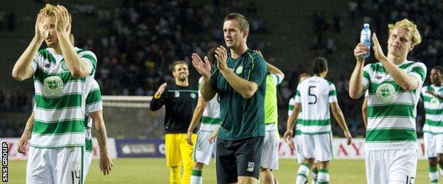 Celtic drew 0-0 in Baku
