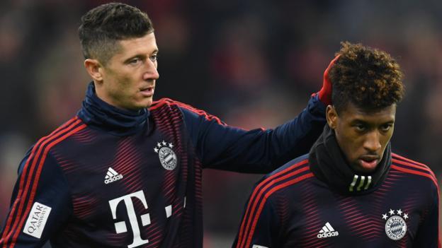 Bayern Munich: Robert Lewandowski & Kingsley Coman fight confirmed by Kovac thumbnail