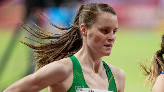 Ciara Mageean is in the closing stages of her preparations for her 1500m challenge at this year's Olympics
