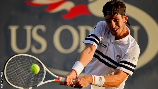 Cameron Norrie reached the second round of the US Open as a qualifier last year
