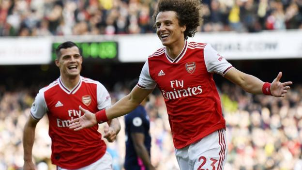 Arsenal 1-0 Bournemouth: David Luiz earns victory for Gunners thumbnail