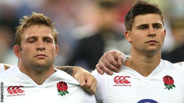 Tom and Ben Youngs have played together for England