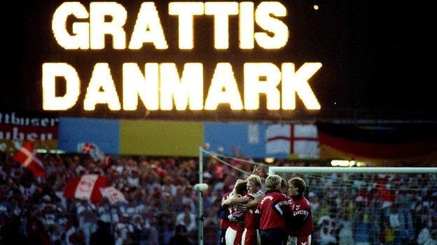 Denmark win Euro '92