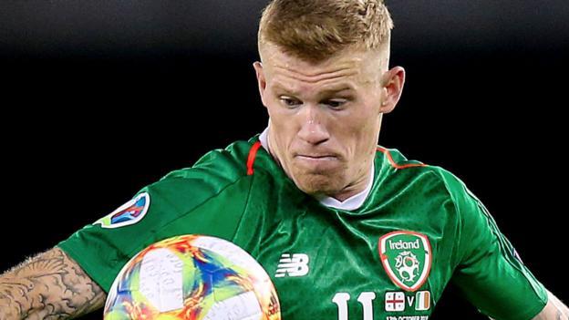James McClean: Republic midfielder doubtful for Slovakia play-off