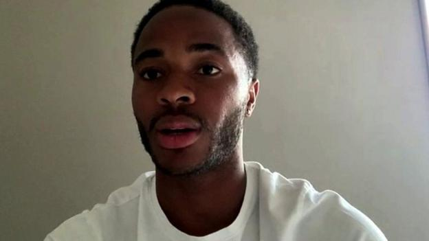 Raheem Sterling speaks up on bigotry following the death of George Floyd.
