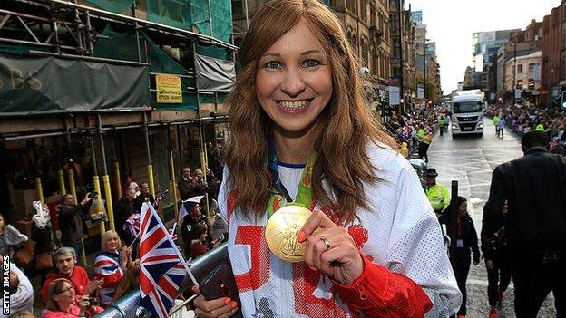 Great Britain's Joanna Rowsell Shand
