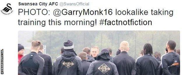 Swansea City twitter