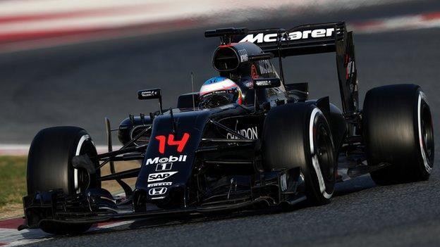 Fernando Alonso will partner Briton Jenson Button in 2016