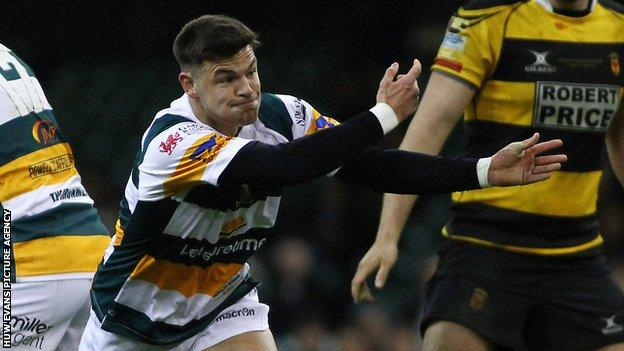 Merthyr scrum-half Adam Hoskins was tested after an Indigo Welsh Premiership match at Ebbw Vale