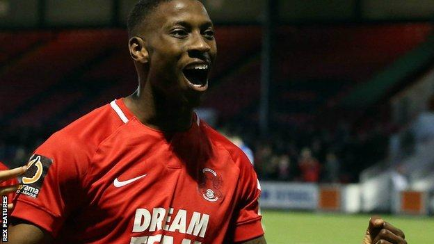 Marvin Ekpiteta put Orient ahead with his sixth goal of the season - and second in successive home games