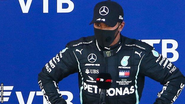 'Only human' Lewis Hamilton vows to 'take lessons' from F1 penalty