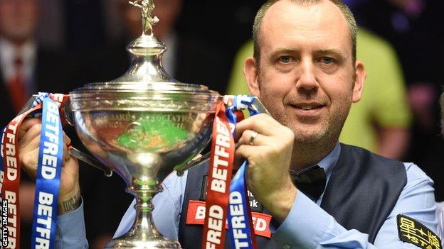 Mark Williams wins the World Championship