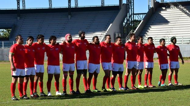 Bolivian rugby team