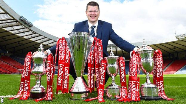 SPFL chief executive Neil Doncaster expects 'significant interest' from potential sponsors